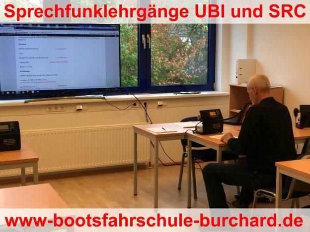 Sprechfunklehrgänge UBI und SRC